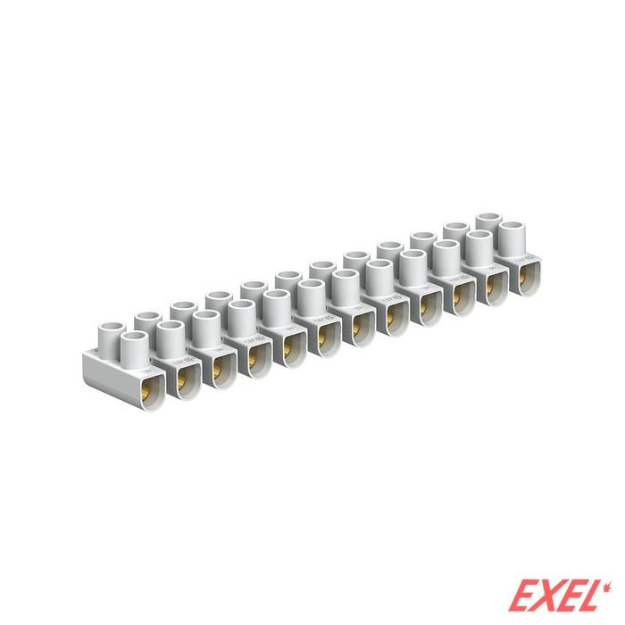 Redna stezaljka 2,5-10mm2/12 bela OBO