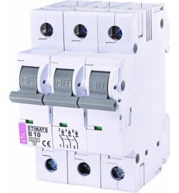 Automatski osigurač 10A 3-polni 6 kA B Eti