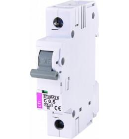 Automatski osigurač 0.5A 1-polni 6 kA C Eti