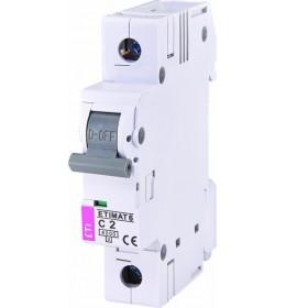 Automatski osigurač 2A 1-polni 6 kA C Eti