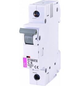 Automatski osigurač 6A 1-polni 6 kA C Eti