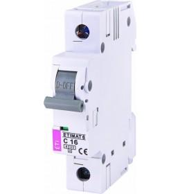 Automatski osigurač 16A 1-polni 6 kA C Eti