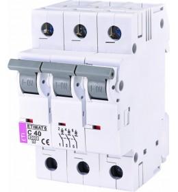 Automatski osigurač 40A 3-polni 6 kA C Eti
