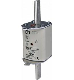 Nožasti osigurač NH2C 100A 500V