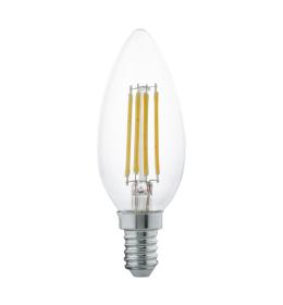 Sijalica LED E14 C35 sveća Edison 4W toplo bela Eglo 11496