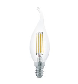 Sijalica LED E14 CF35 sveća Edison deco 4W toplo bela Eglo 11497