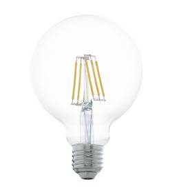 Sijalica LED E27 Edison 6W G95 toplo bela Eglo 11503
