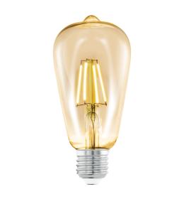 Sijalica LED E27 Edison Amber ST64 4W fi64 2200K Eglo 11521