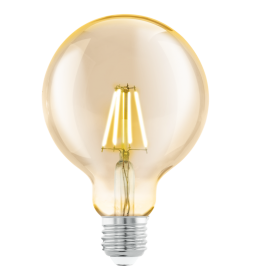 Sijalica LED E27 Edison Amber 4W G95 2200K Eglo 11522