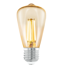 Sijalica LED E27 Edison Amber ST48 3,5W fi48 2200K Eglo 11553