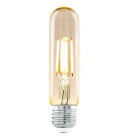 Sijalica LED T32 E27 Edison Amber 4W tubular 2200K Eglo 11554