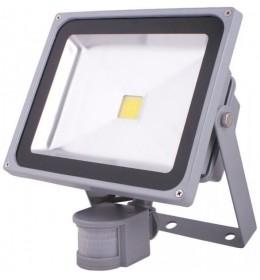 LED reflektor 30W senzor  6000K IP65 siva Hyundai