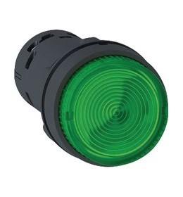 Taster svetleći LED Zeleni N/O 24 V AC/DC Schneider