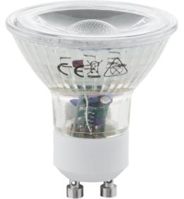 LED sijalica GU10 230V 5W 38° 3000K COB EGLO 11511
