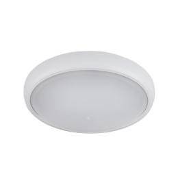 LED LAMPA OVALNA BRLED 6W IP54 BELA ELMARK