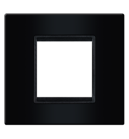 Okvir 2M crna sa crnim nosačem Aling EXP