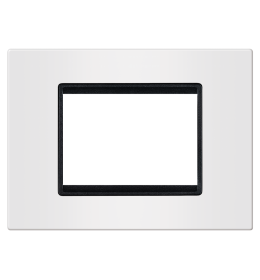 Okvir 3M bela sa crnim nosačem Aling EXP