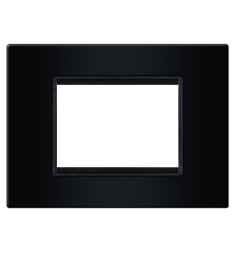 Okvir 3M crna sa crnim nosačem Aling EXP