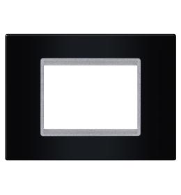 Okvir 3M crna sa silver nosačem Aling EXP