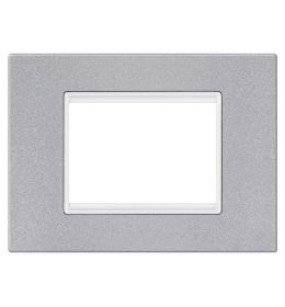 Okvir 3M silver sa belim nosačem Aling EXP