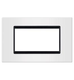 Okvir 4M bela sa crnim nosačem Aling EXP