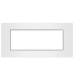 Okvir 6M bela sa belim nosačem Aling EXP