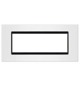 Okvir 6M bela sa crnim nosačem Aling EXP