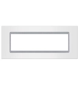 Okvir 7M bela sa silver nosačem Aling EXP