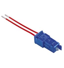 Tinjalica LED plava sa provodnicima 230V Aling EXP