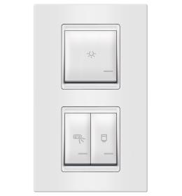 Indikator za kupatilo 3M vertikalno bela Aling EXP