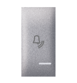 Tipka 1M zvono sa indikacijom silver Aling EXP
