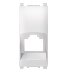Maska za računarsku priključnicu RJ45 bela 1M Aling EXP