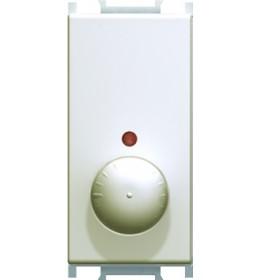 Regulator osvetljenja rotacijski dvokanalni R 300W 1M Krem TEM