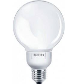 Compakt 12W E27 2700K GLOBE soft G93 Philips