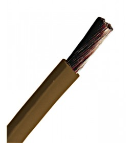 Provodnik P/F 16 mm² braon