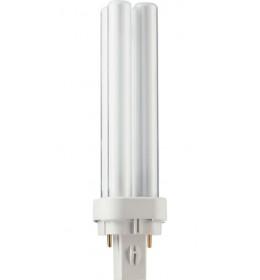 Štedljiva ubodna  13W PL-C 2p 4000K G24d-1 Philips