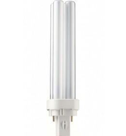 Štedljiva ubodna  18W PL-C 2p 4000K G24d-2 Philips