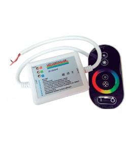 LED RGB kontroler RF touch 18A crna Elmark