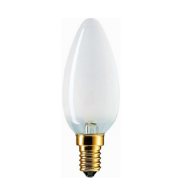 Sveća 40W E14 B35 mat Philips