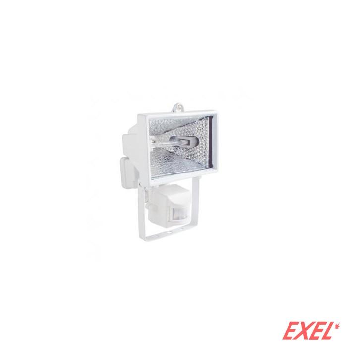 Reflektor halogeni 120W senzor beli sa sijalicom