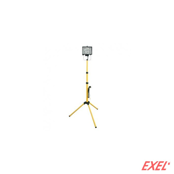 Reflektor halogeni 1x400W sa stalkom žuta