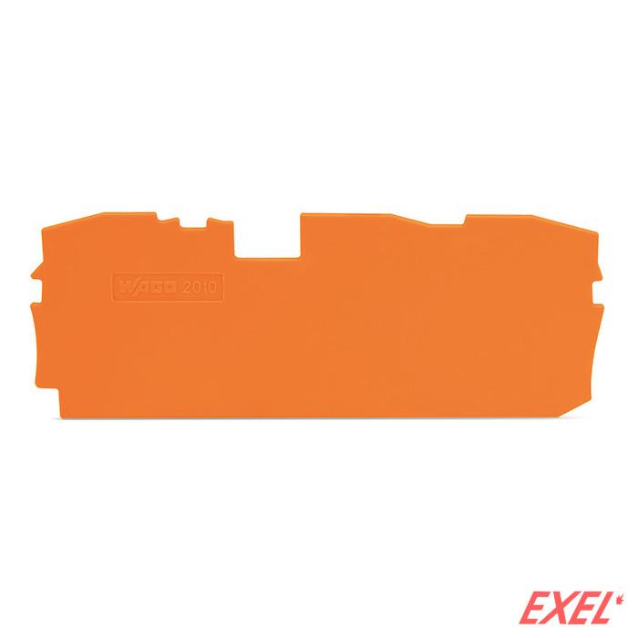 Krajnja ploča za VS 10-3p narandž. 2010 WAGO
