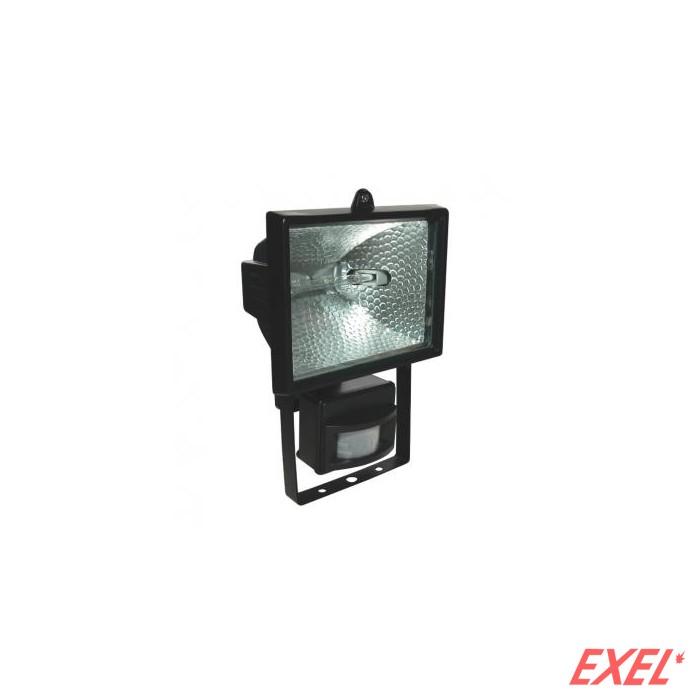 Reflektor halogeni 400W senzor crni sa sijalicom
