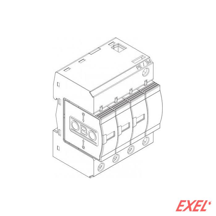 Odvodnik prenapona V20-C/3+NPE 280V OBO