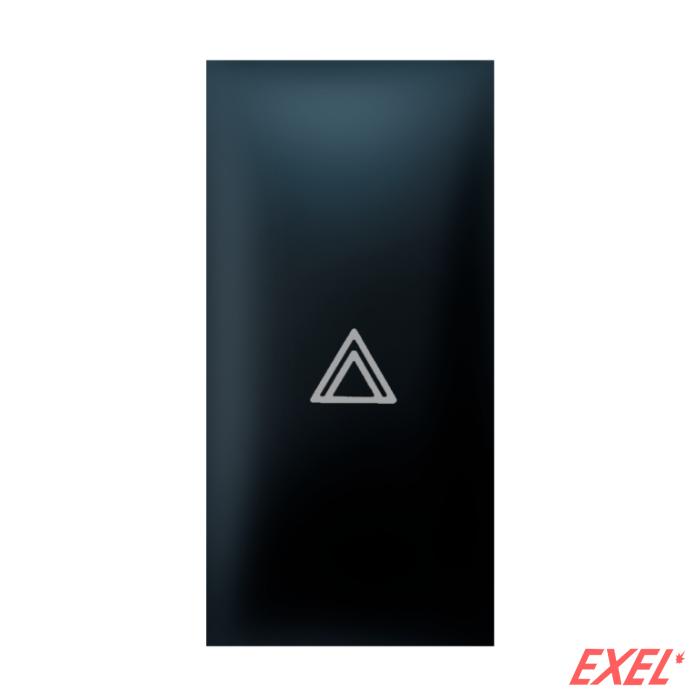 Tipka 1M strelica crna Aling EXP