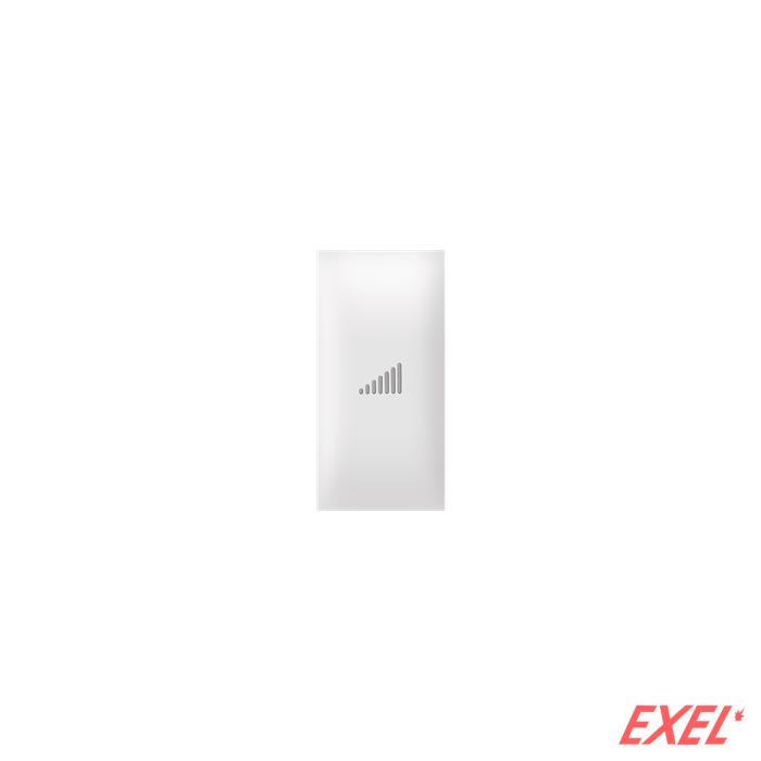 Taster EXP 1M sa oznakom pojačavanja, beli