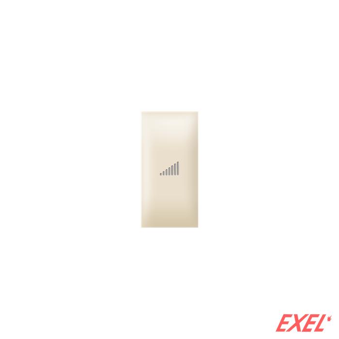 Taster EXP 1M sa oznakom pojačavanja, krem