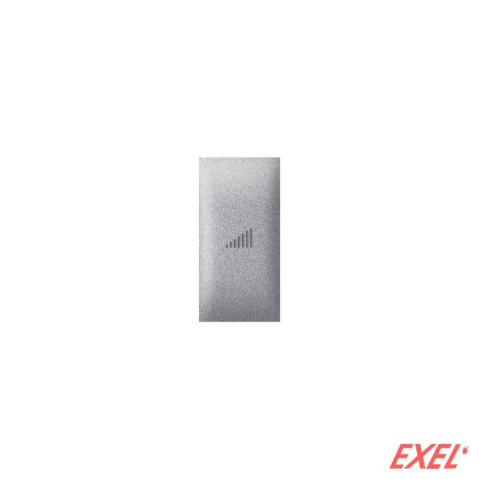 Taster EXP 1M sa oznakom pojačavanja, silver