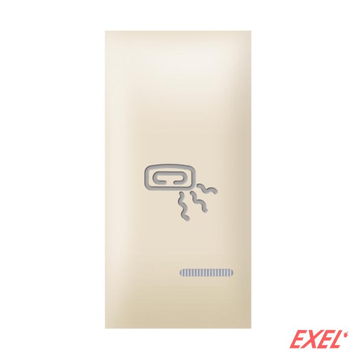 Tipka 1M grejalica indikacijom  krem Aling EXP