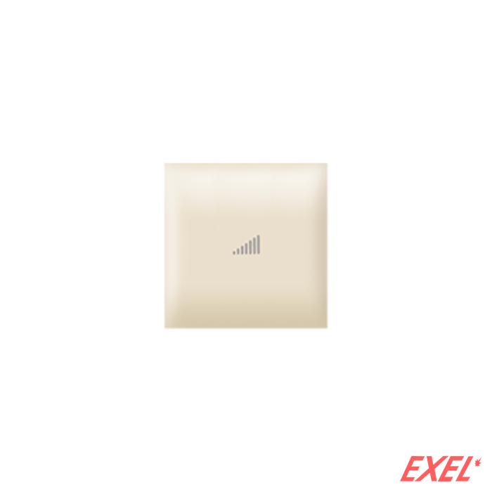 Taster EXP 2M sa oznakom pojačavanja, krem